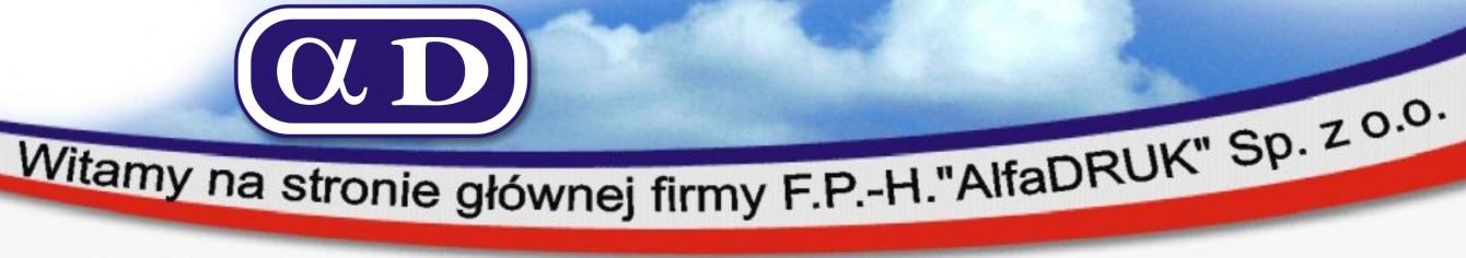 Firma F.P.-H. AlfaDRUK  sp. z o.o.